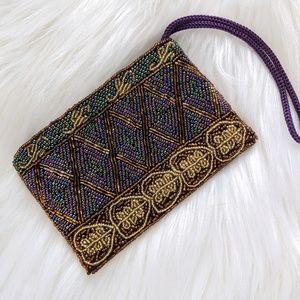 Lady Jade Designs Small Beaded Wristlet